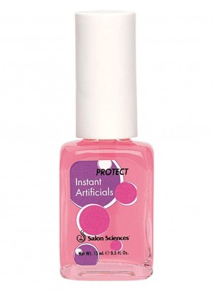 Salon Science Instant Artificials Hardener Repair Base Top Coat Gel 0.5 fl. oz.