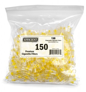 Efficient Cigarette Filters Bulk Economy Pack (Total 150 Filters)