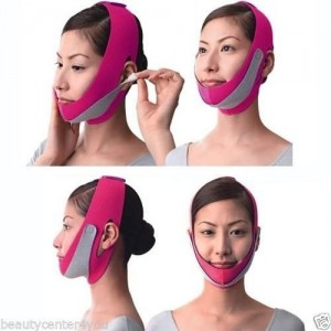 SMYRNA Anti Wrinkle Half Face Slimming Cheek Mask Lift V Face Line Belt Strap