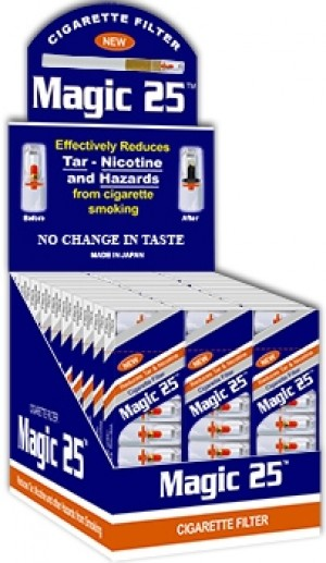Magic 25 Cigarette Filters 30 Packs (300 Filter Tips)