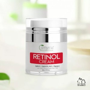 Smyrna Retinol Day and Night Cream Moisturizer Anti Aging, for Wrinkles 1.7 Fl. Oz.